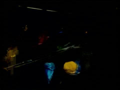 High Speed Arrow bursts line of balloons