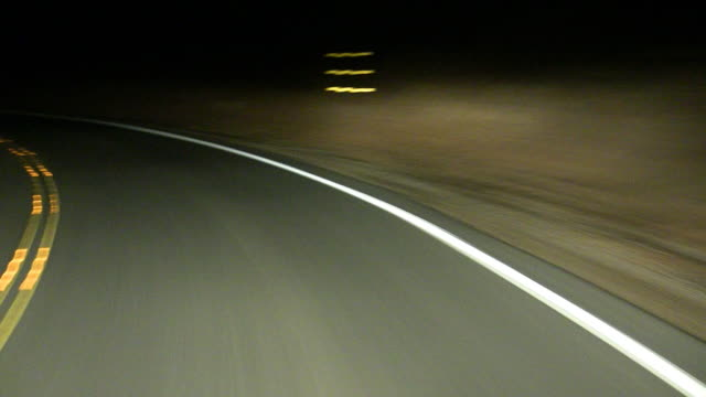 High Speed Drive at Night