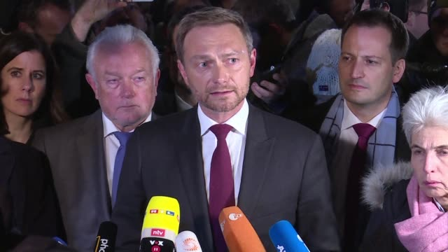 High stakes talks to form a new German government collapsed Sunday as the pro business FDP party walked out preferring not to govern than to govern...