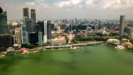 High view of Singapore