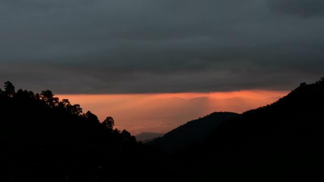 Highest viewpoint on Doi Ang Khang, Chiang Mai.