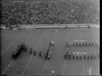 Highlights from Notre Dame Vs Georgia Tech college football game / number 43 Angelo B Bartelli quarter back number 20 Julius A Rykovich right hand /...