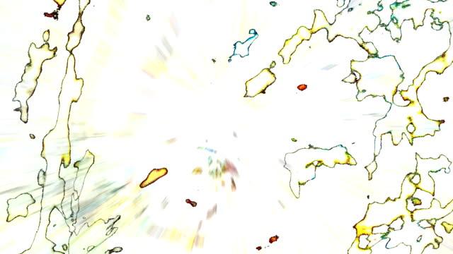 Scannen abstrakte Natur: höchst konzentriert reality (Endlosschleife)