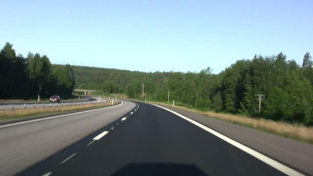 Highway-Fahrt