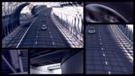 Traffico su autostrada aerea