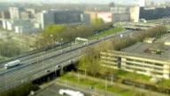 Highway traffic at Amsterdam