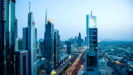 HD: Highway traffic in Dubai