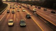 Autobahn-Verkehr