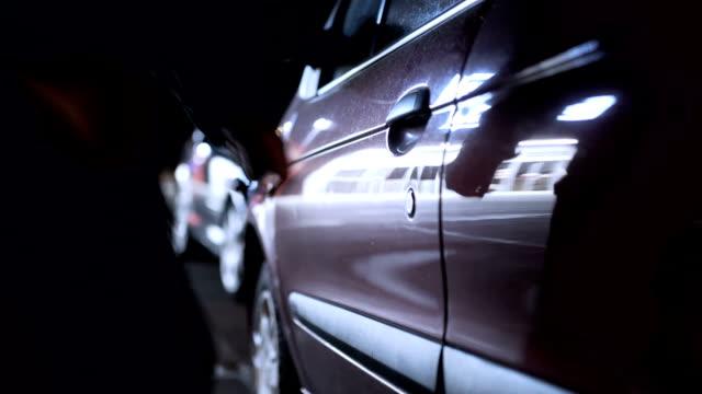 Hijacks the car