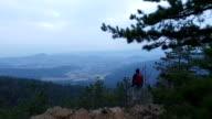 Scarpa da hiking libertà sulla parte superiore