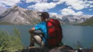 Scarponcino si affacciano su lago 2