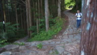 Hiking in Nakasendo Road (slow motion)