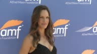 Hilary Swank at Alfred Mann Foundation's An Evening Under the Stars with Andrea Bocelli in Los Angeles CA