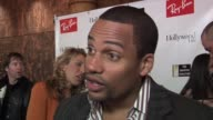 Hill Harper on the Creative Coalition and Sundance being a good combination at the 2006 Sundance Film Festival RayBan Visionary Awards at the Stein...