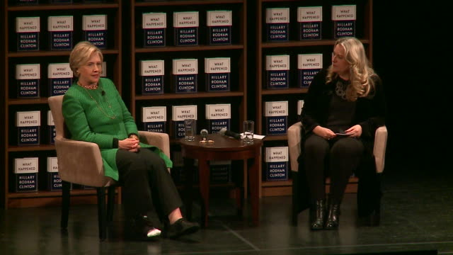 WGN Hillary Clinton addressed a crowd of almost 4000 at Roosevelt University's Auditorium Theatre in Chicago on Oct 30 as part of the tour for her...