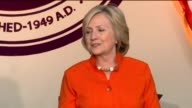 KTLA Hillary Clinton Addresses Homecare Workers Providers at LA TradeTech Event on August 6 2015