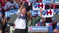 Hillary Clinton gave a confident speech at a campagin rally in Virginia on Friday the day after a marathon 11 hour congressional grilling over the...