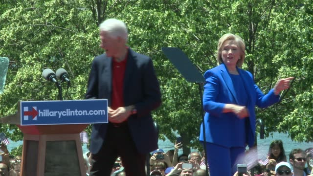 Hillary Clinton Gives First Speech of Presidential Campaign on June 13 2015 in New York City