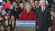 WHO Hillary Clinton Gives Victory Speech on Iowa Caucus Night on February 1 2016