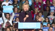 Hillary Clinton heads back to the campaign trail after a fiery presidential debate with the Republican looking to bounce back after a weekend that...