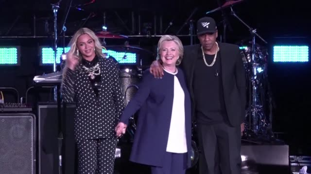 Hillary Clinton held a star studded campaign event in Cleveland Ohio winning the endorsement of megastar couple Beyonce and JayZ who also criticized...