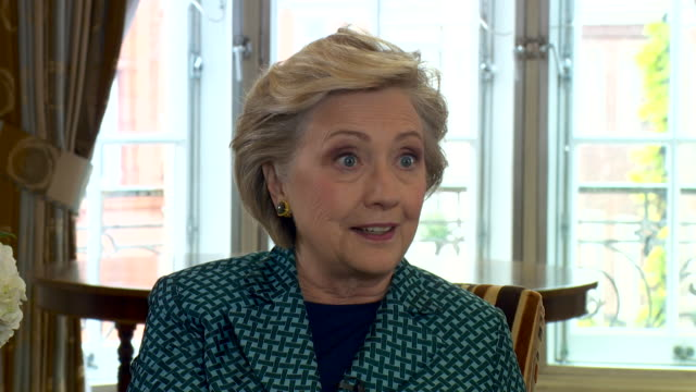 Hillary Clinton saying the Brexit Leave campaign 'transported' a lot of their 'lies' to the USA during the Presidential election
