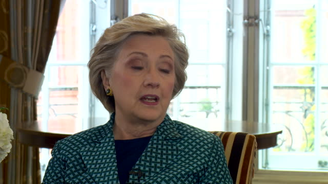 Hillary Clinton saying there needs to be a 'crackdown' on foreign inteference in general elections