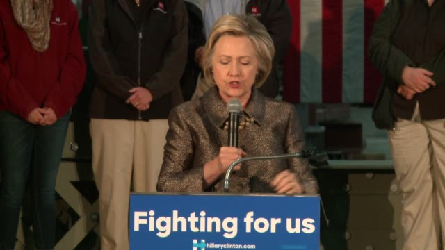 WGN Hillary Clinton Talks About the Importance of the American Labor Movement after a tour at Munster Steel in Northwest Indiana on April 26 2016