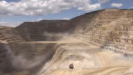 WS Hills, dust clouds at gold mine / Victor, Colorado, United States