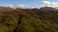 Hills Near Benderloch  - Aerial View - Scotland, Argyll and Bute, United Kingdom