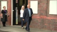 Six people charged with criminal offences Cheshire Warrington EXT Family members of Hillsborough Disaster victims leaving CPS building one man...
