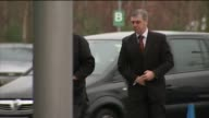 Six people charged with criminal offences March 2015 Cheshire Warrington EXT David Duckenfield arriving to give evidence to the Hillsborough disaster...