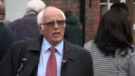 Six people charged with criminal offences ENGLAND Cheshire Warrington EXT Trevor Hicks speaking to press outside court SOT