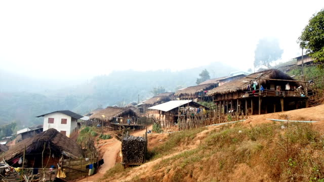 Hilltribe village