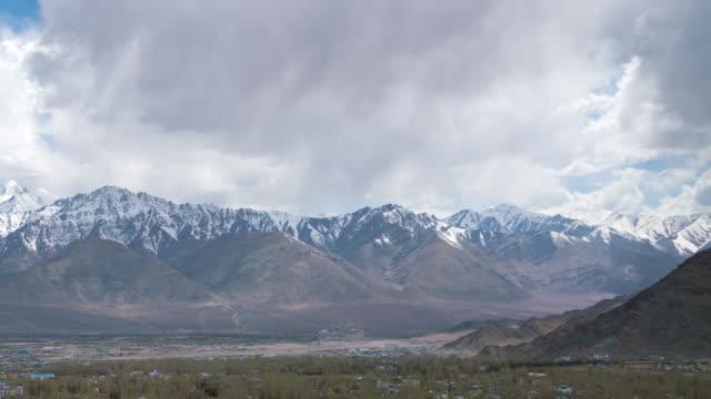 Himalayas mountain in leh ladakh india
