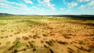 HELI Himba Settlement With Surrounding Landscape