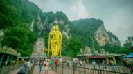 Hindu statue time-lapse
