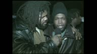 Hip Hop artist Jeru Da Damaja interview with Video Music Box's Crazy Sam at the movie soundtrack 'New Jersey Drive' release party 1995