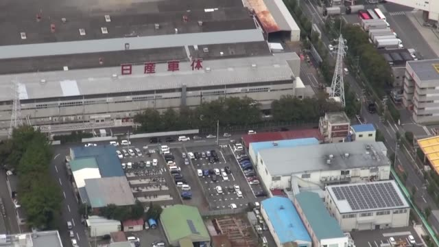 Kyodo News helicopter shows Nissan Motor Co's Shonan plant in Hiratsuka near Tokyo Nissan said a day earlier it will halt new car shipments from all...