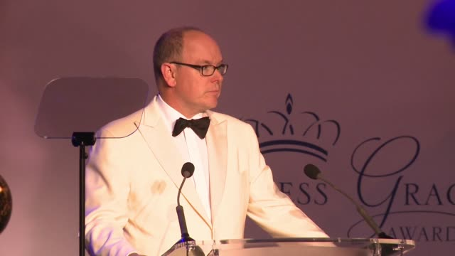 His Serene Highness Prince Albert II at the 2015 Princess Grace Awards Gala on September 05 2015 in Monaco Monaco