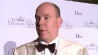 INTERVIEW His Serene Highness Prince Albert II of Monaco at the 2015 Princess Grace Awards Gala on September 05 2015 in Monaco Monaco