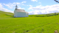 Historical Rural Church, Time Lapse