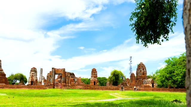 Historical temple in Ayutthaya, Thailand