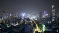 WS TL HA Ho CHi Minh city at night
