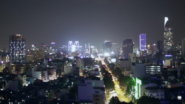 WS TL HA Ho CHi Minh city at night