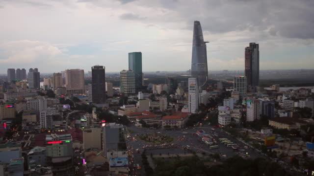 WS HA   Ho Chi Minh City at sunset