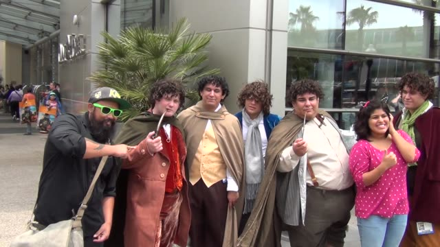 Hobbit costumes on streets of San Diego Comic Con at Celebrity Sightings ComicCon International 2013 Celebrity Sightings ComicCon International 2013...