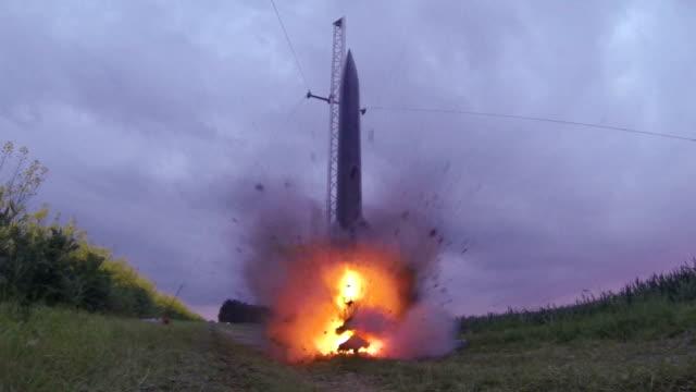 Hobby Rocket Take Off