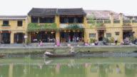WS Hoi An Riverside scene from a boat