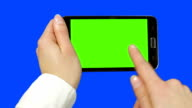 Holding Touchscreen Device